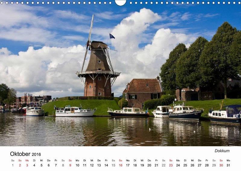 Dokkum - Kalender Friesland