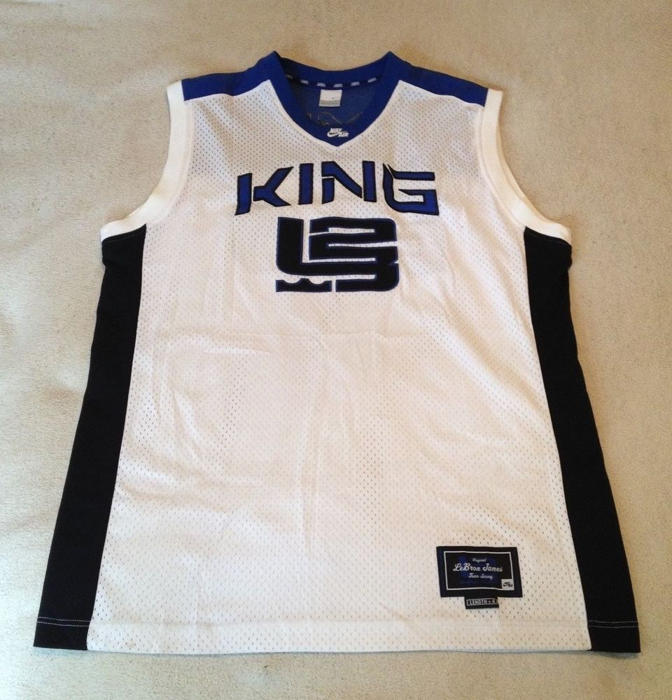 newest collection b060d edbe2 Nike Vintage Lebron James Original King Team Jersey Size XL ...