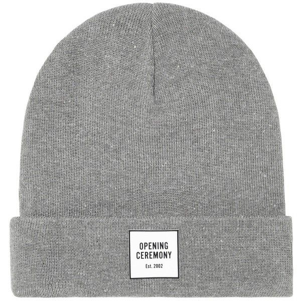 Opening Ceremony OC Logo Beanie ( 48) ❤ liked on Polyvore featuring ... 5fdf99306570