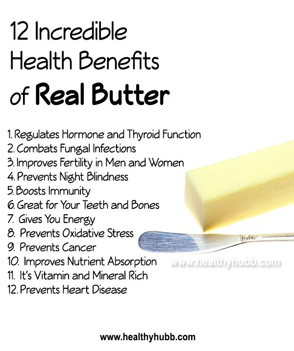 12 Incredible Health Benefits of Real Butter! #wellness #nutrition #healthy #food #butter #raw   Coconut health benefits, Nutrition facts, Health benefits