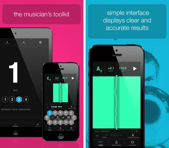 TUNABLE FOR IOS AND ANDROID IS AN ALLINONE MUSIC TOOLKIT