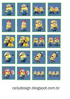 Kit Artes Digitais Gratuitas Para Imprimir Minions Festa Minion
