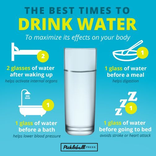 The Best Time To Drink Water Images Drinking Water Survival Blog When To Drink Water