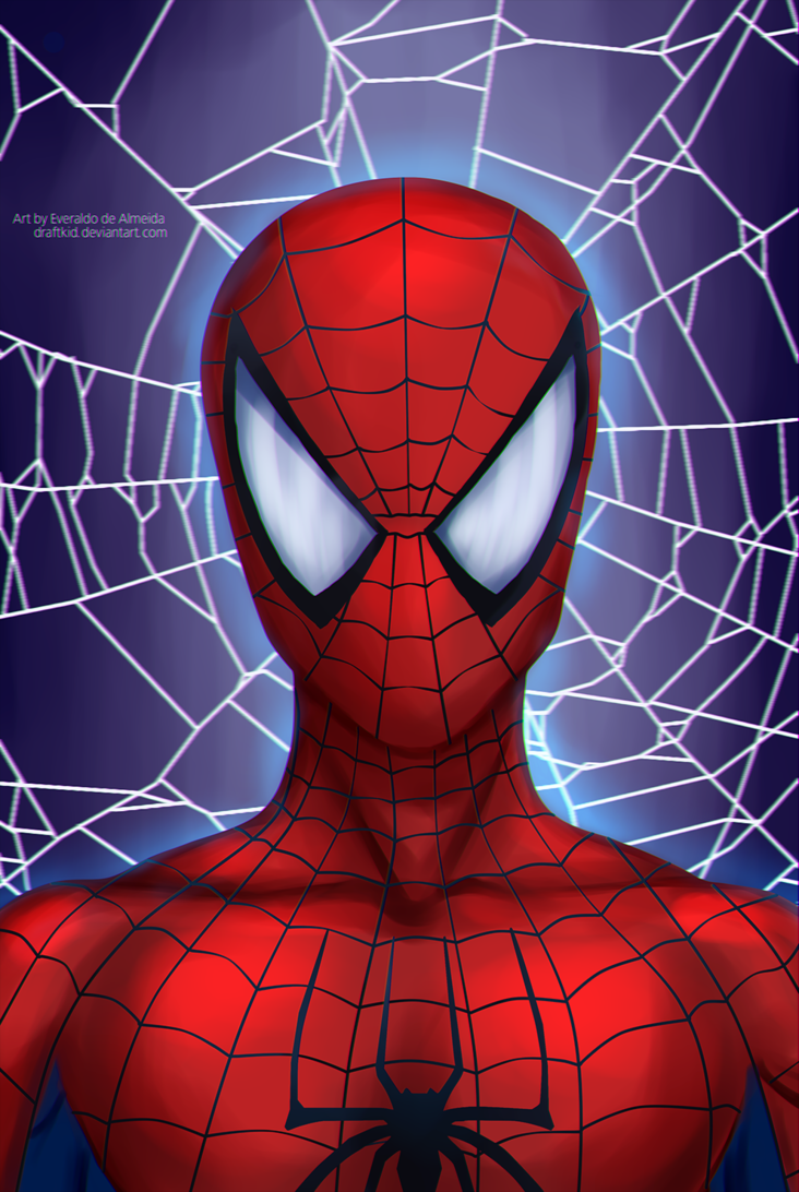 Spider Man Animated Fan Art Spider Man By Draftkid Awesomeness Aaa Spiderman Drawing Spiderman Web Spiderman