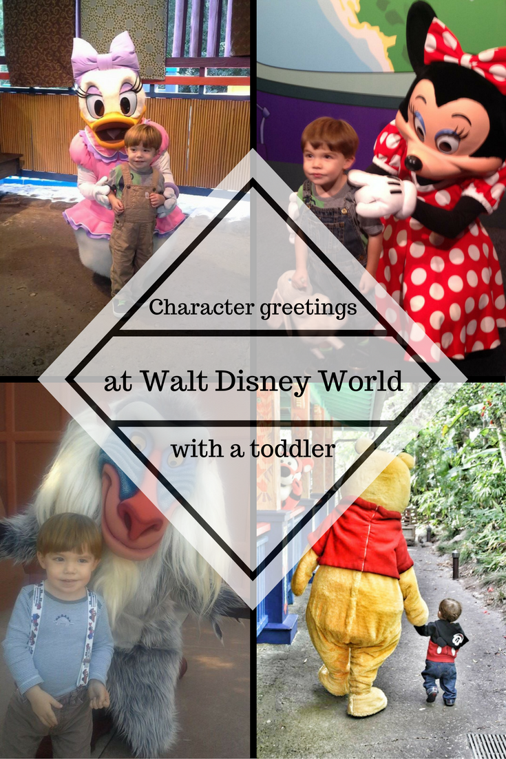 Character Greetings With A Toddler At Walt Disney World Disney