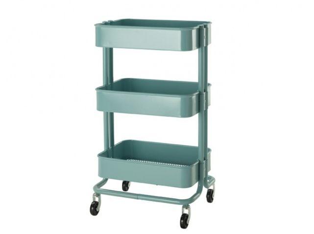 des meubles astucieux et sympas pour votre studio - Table A Roulette Ikea