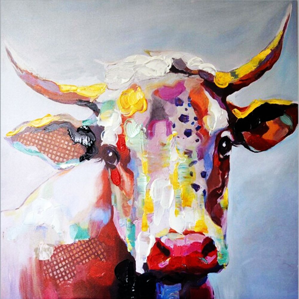 Product Cow Pictures On Canvas Cow Painting Cow Art