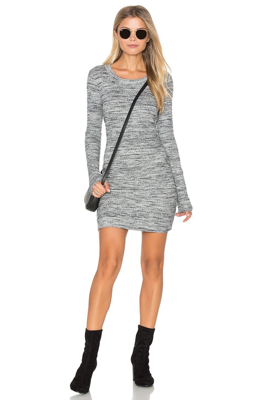 Super chic jersey knit rib dress by fifteen twenty on revolve