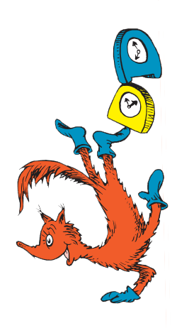 Fox In Socks Character Bulletin Board School And Dr