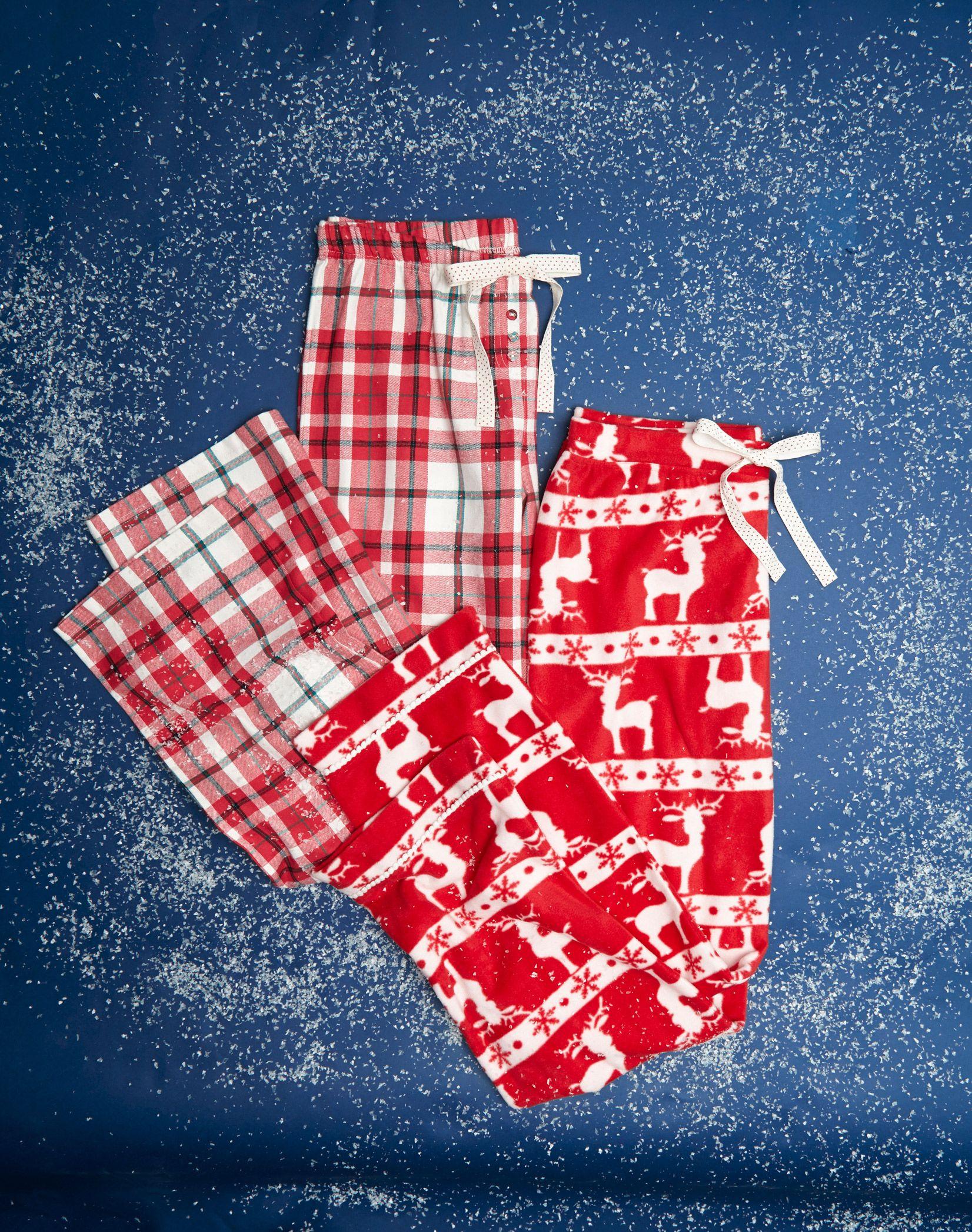 Make it warm this Christmas with snug pyjamas in Christmas