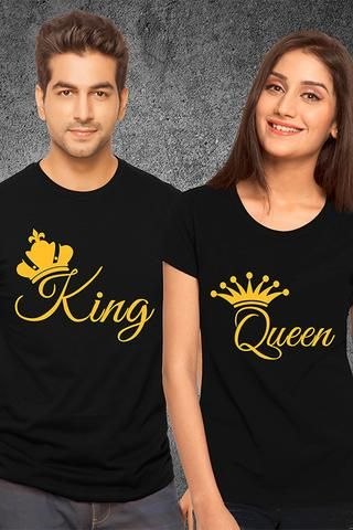 bf22cfd3c Create Cute Custom Couple Shirts. Personalize these matching couple shirts  with your own names, te… | Buy Matching Couple T-shirts Online From  Roamdeal ...