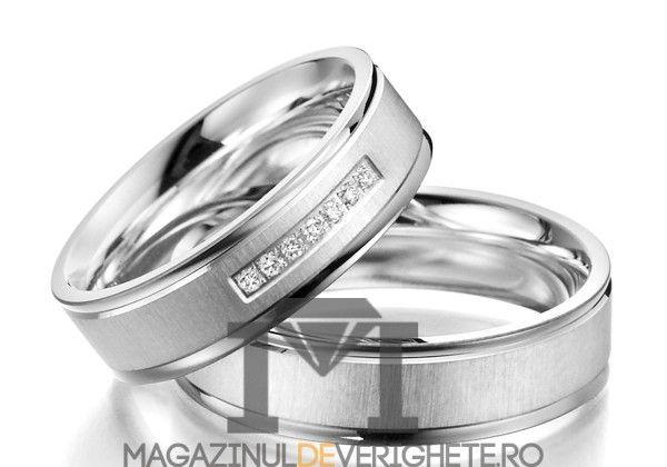 Verighete Aur Alb Mdv1075 Nunta Pinterest Wedding