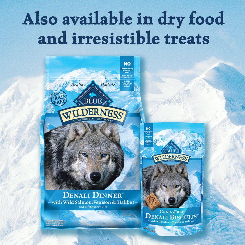 Blue Buffalo Blue Wilderness Denali Dinner With Wild Salmon