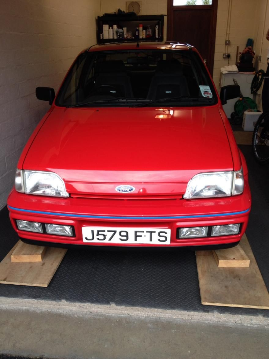 Ford Fiesta Xr2i 1992 Red For Sale Car Advert 275259 5 250