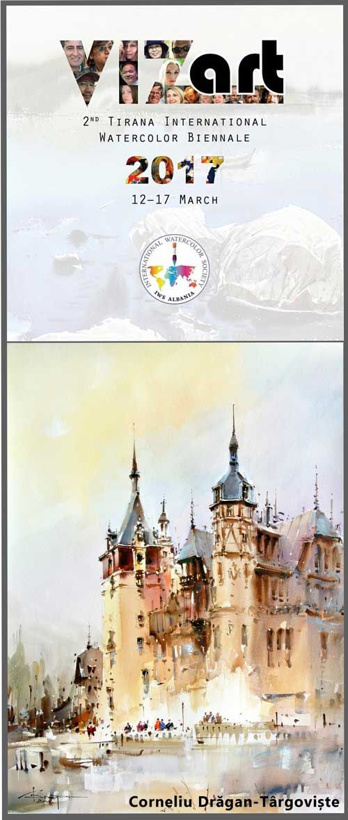 IWS-Albania-The-2nd-Tirana-International-Watercolor-Biennale-2017-CORNELIU-DRAGAN-TARGOVISTE.jpg (500×1177)