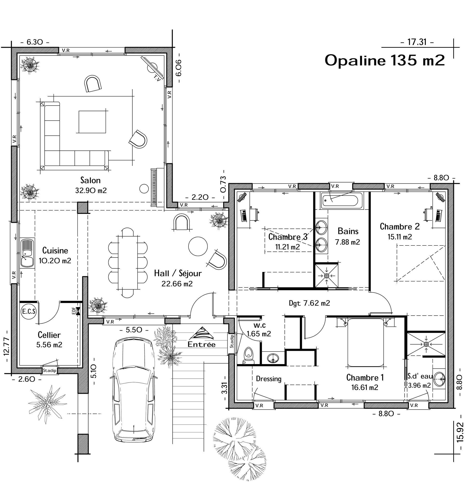 Plan   12 ch. 12 p. 1125m² homedecorideas interiordesign ...