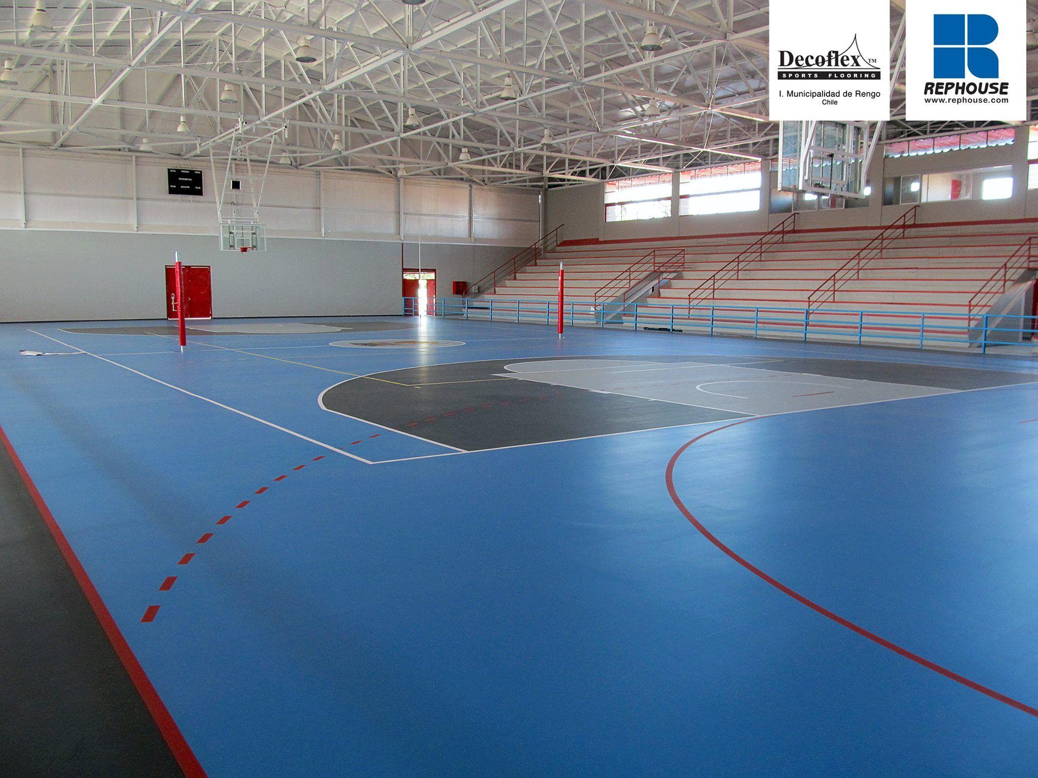 Decoflex Universal Indoor Sports Flooring Rengo Chile Indoor Sports Universal Sports