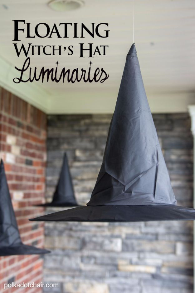 34 Cheap and Quick Halloween Party Decor Ideas Pinterest DIY - halloween decorations witch