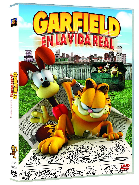 Garfield Gets Real Dvd Garfield Real Dvd Garfield Nintendo Ds Nintendo