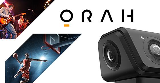 VideoStitch lança de 360 graus da câmera Orah para fazer VR vídeo mais simples para produzir