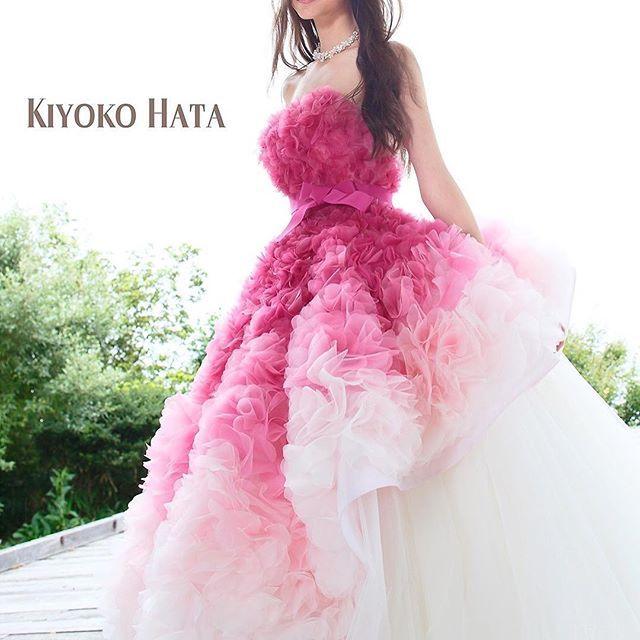 weddingdress couturefashion dress flowerdress fashion instafashion ウエディングドレス ドレス marry花嫁 marryxoxo 20 gowns pretty girl dresses ruffle wedding dress