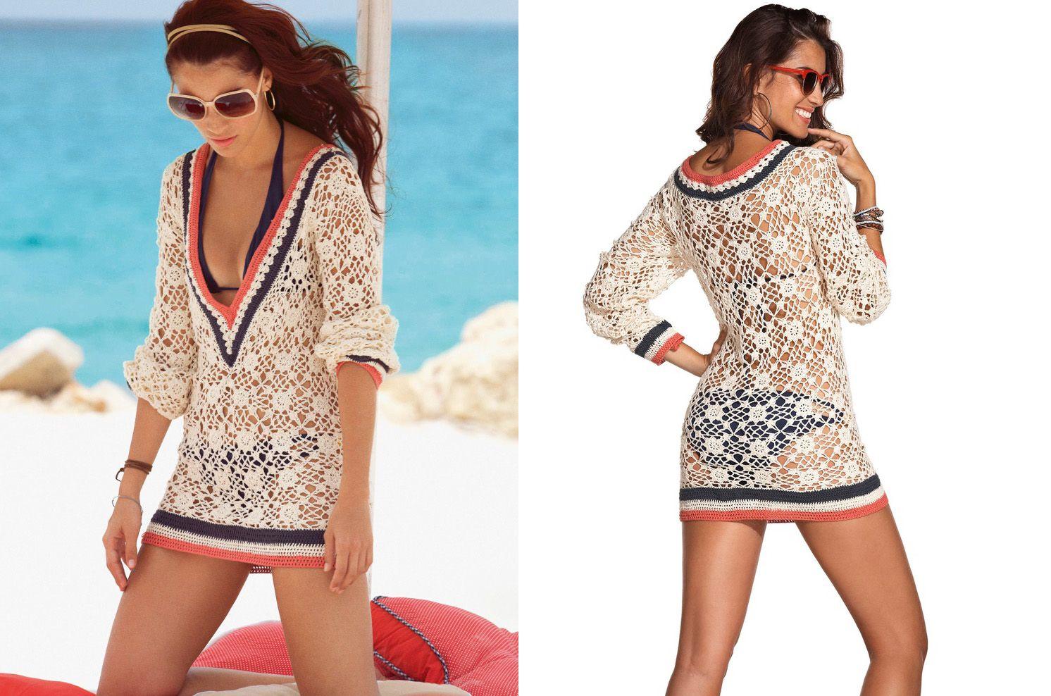 Moira crochets thread eloiza motif free crochet pattern for eloiza motif beach cover up free crochet pattern bankloansurffo Images