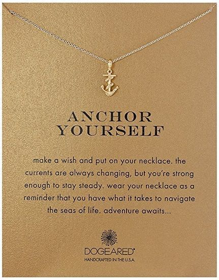Anchor Yourself Pendant Necklace | College graduation gift ideas | Graduation gifts for daughter sister best friend  sc 1 st  Pinterest & 12 Meaningful College Graduation Gifts for Girls | College Student ...