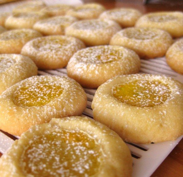 orange thumbprint cookies