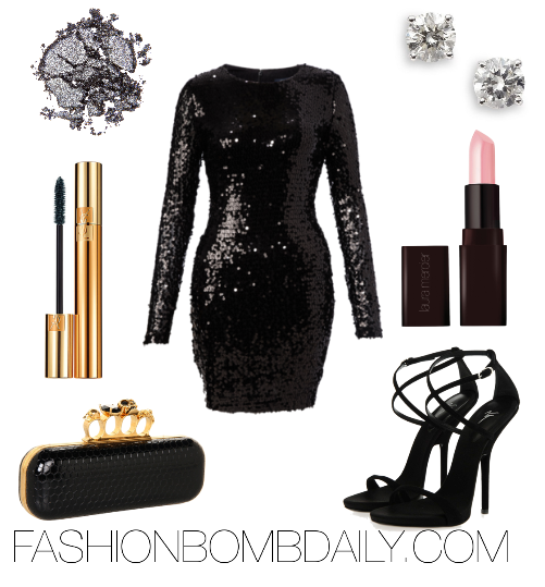 f88861eaa49ce What Shoes and Accessories to Wear with Sequin Dress | Issa a ...