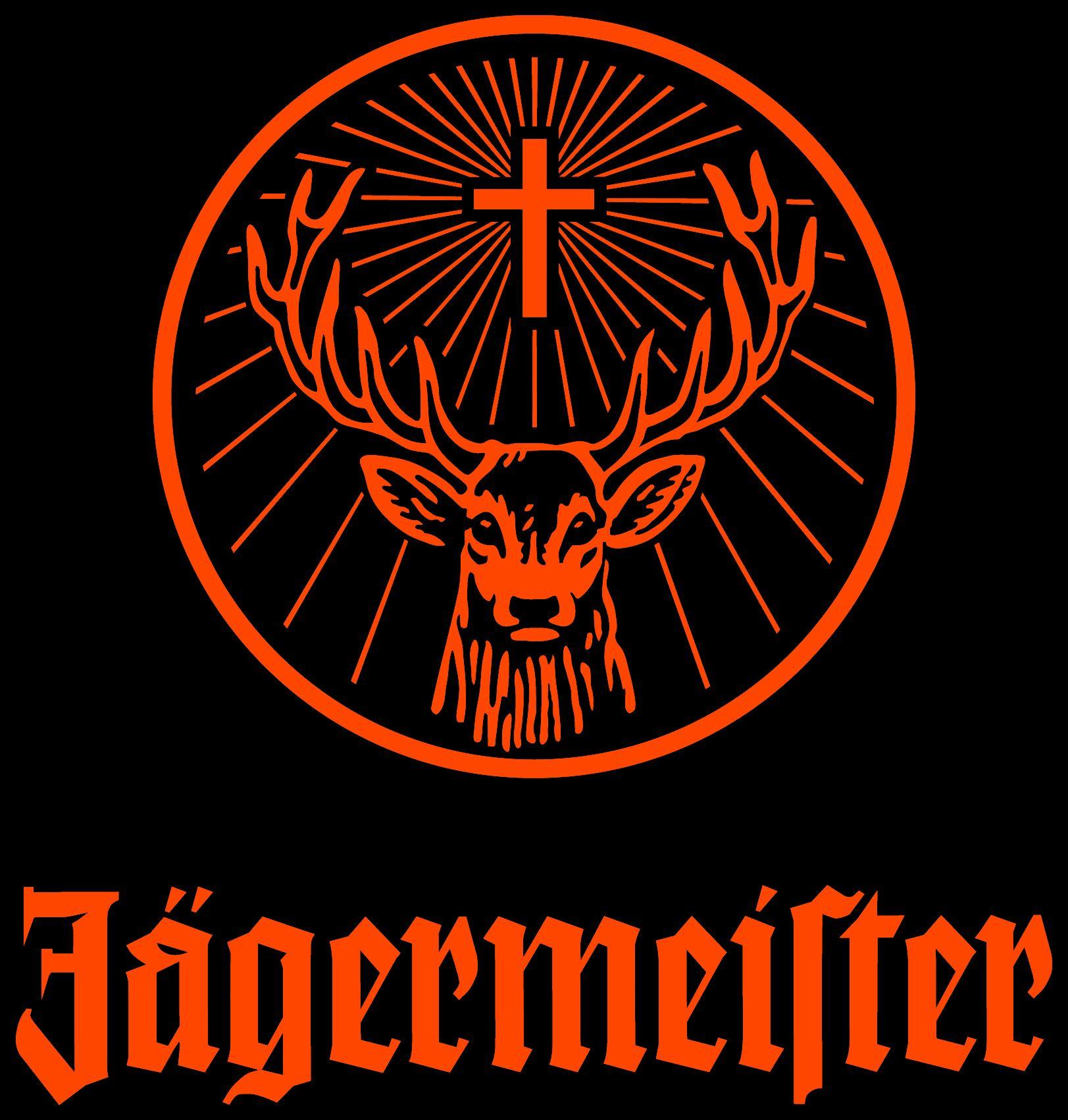 Jägermeister Logo Schablone