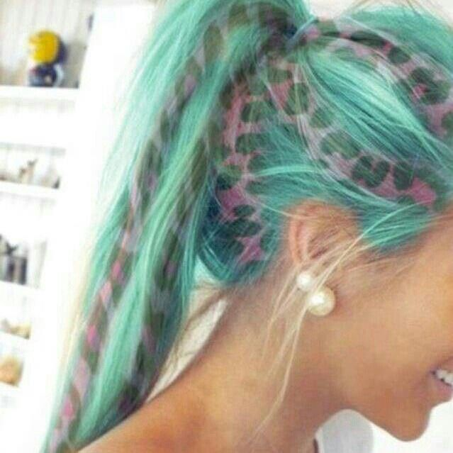 Turquoise Hair Men Best Ideas About On Teal Color Crazy Col Home Access