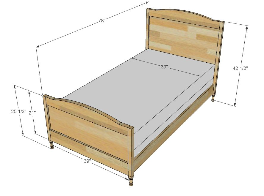 WAAA LAAA!! Chelsea Twin Bed or Bottom Bunk So going to build this ...