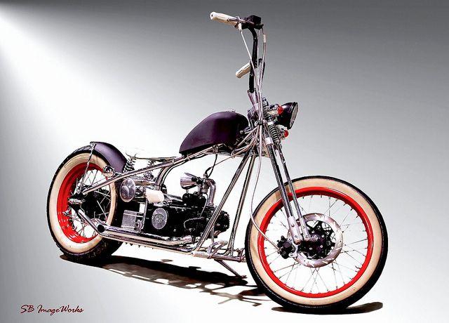 baby bobber | scooters | Bobber bikes, Bobber, Custom bikes