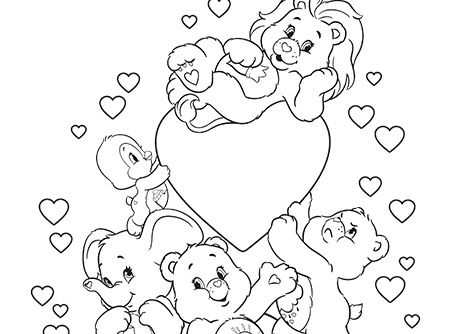 Fun With Care Bears And Cousins Bear Coloring Pages Disney Coloring Pages Coloring Pages