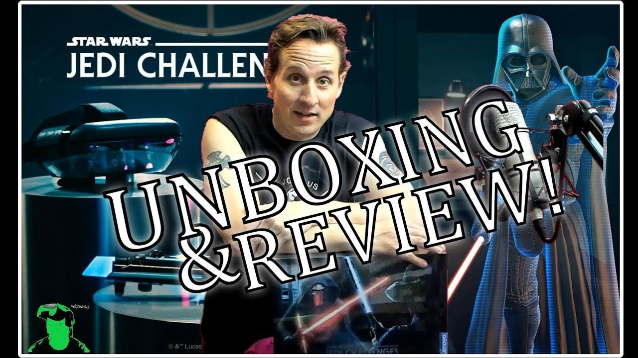 Star Wars Jedi Challenges Unboxing & Review I've
