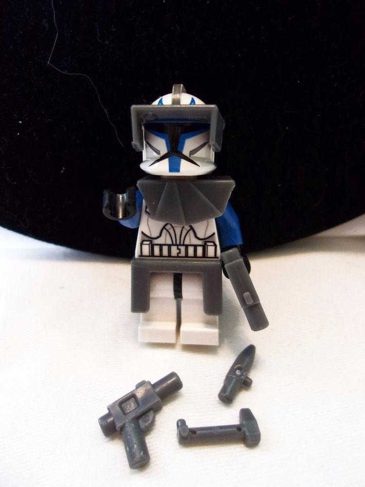 LEGO Star Wars Captain Rex Clone Trooper Minifig minifigure 7675 ...