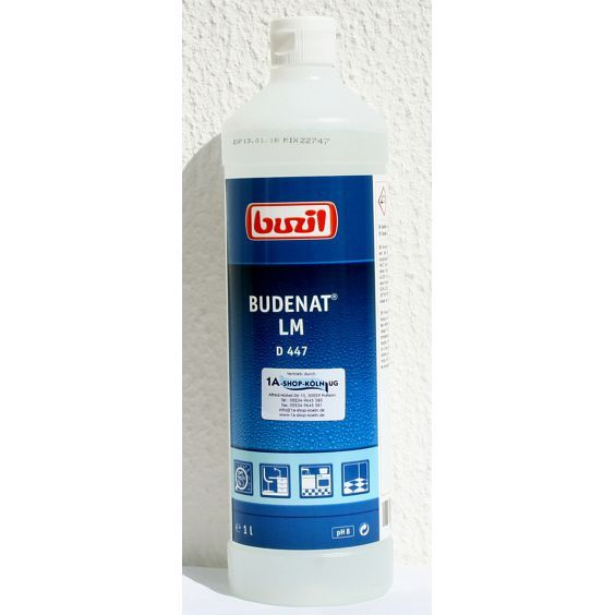 Buzil D447 Budenat Lm Flachendesinfektionsmittel 1 Liter