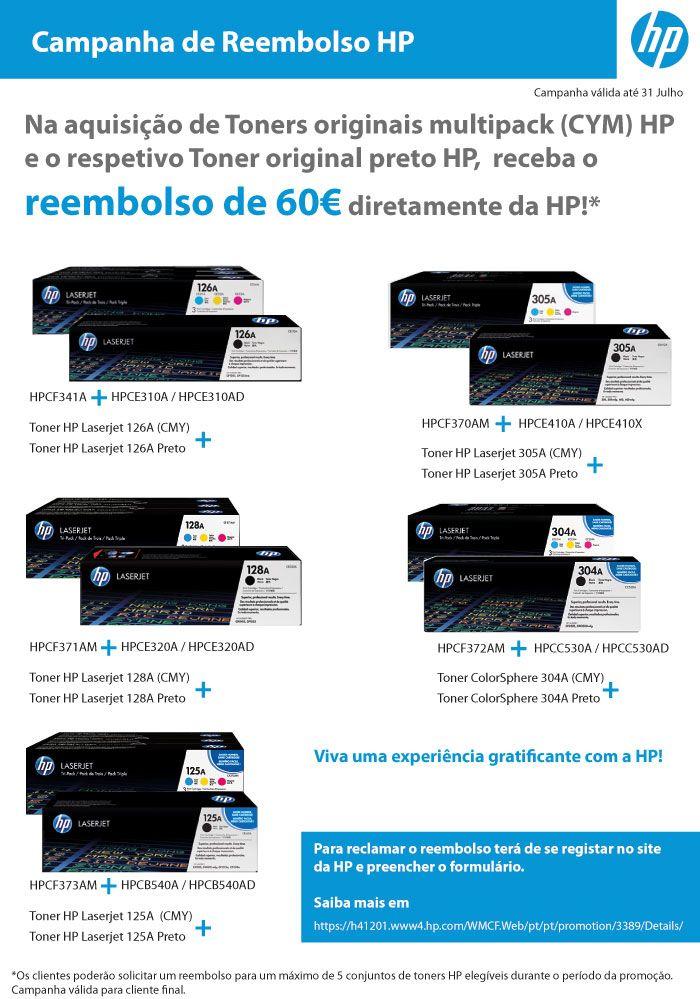 Campanha de Reembolso HP
