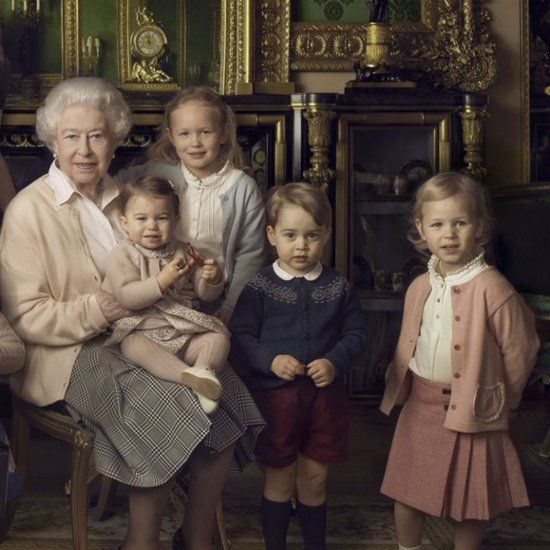 Pin On Queen Elizabeth Ii And Her Extended Family