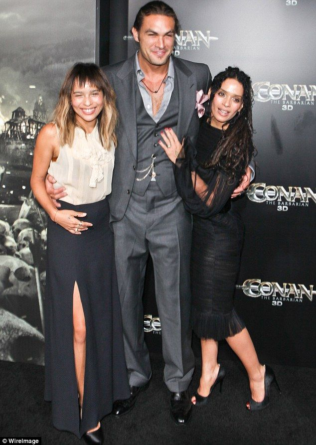 Zoe Kravitz Reveals How Her Modern Family Gets Along With