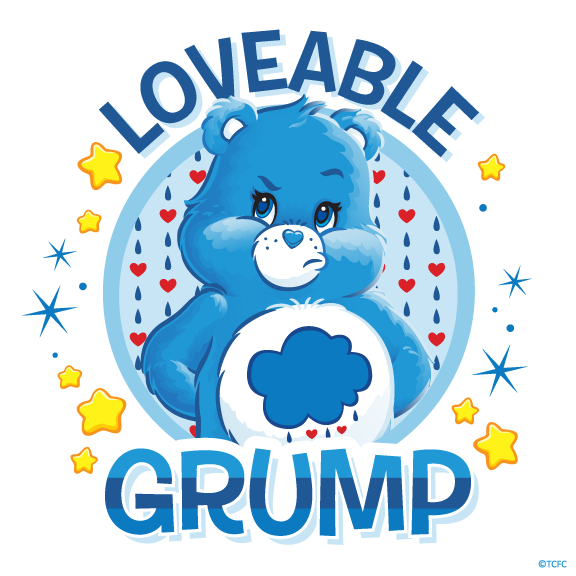 Care Bears Grumpy Bear Loveable Grump Grumpy Care Bear Care Bears Care Bear Tattoos