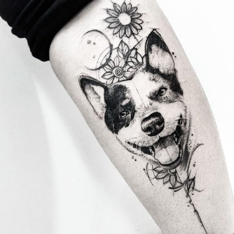 Photo of Die besten Hunde-Tattoo-Ideen