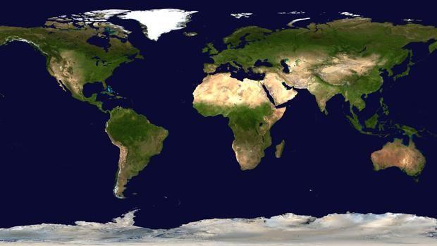 Todas las representaciones cartográficas de la Tierra distorsionan la realidad de esta