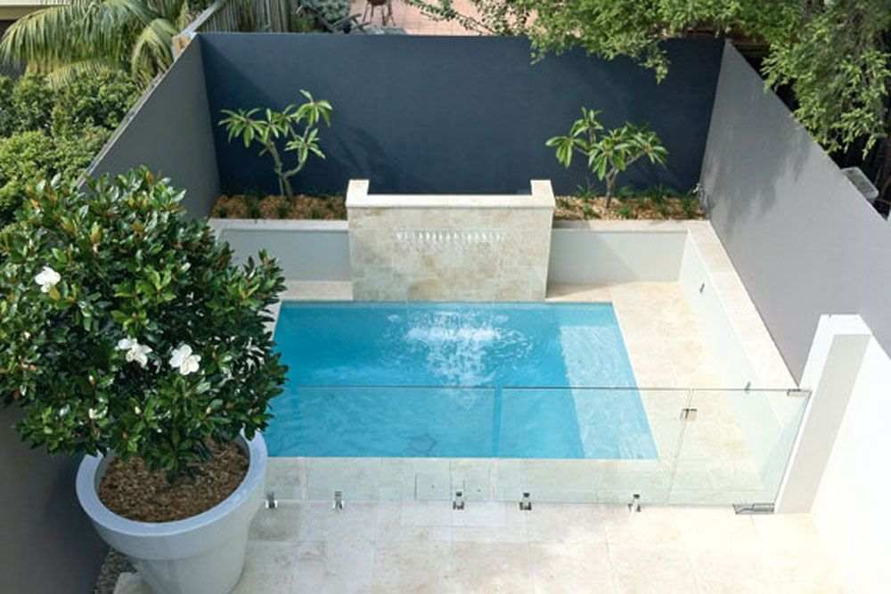 Create a pool in the backyard family life a people and dumpster pool - Pools in small spaces set ...