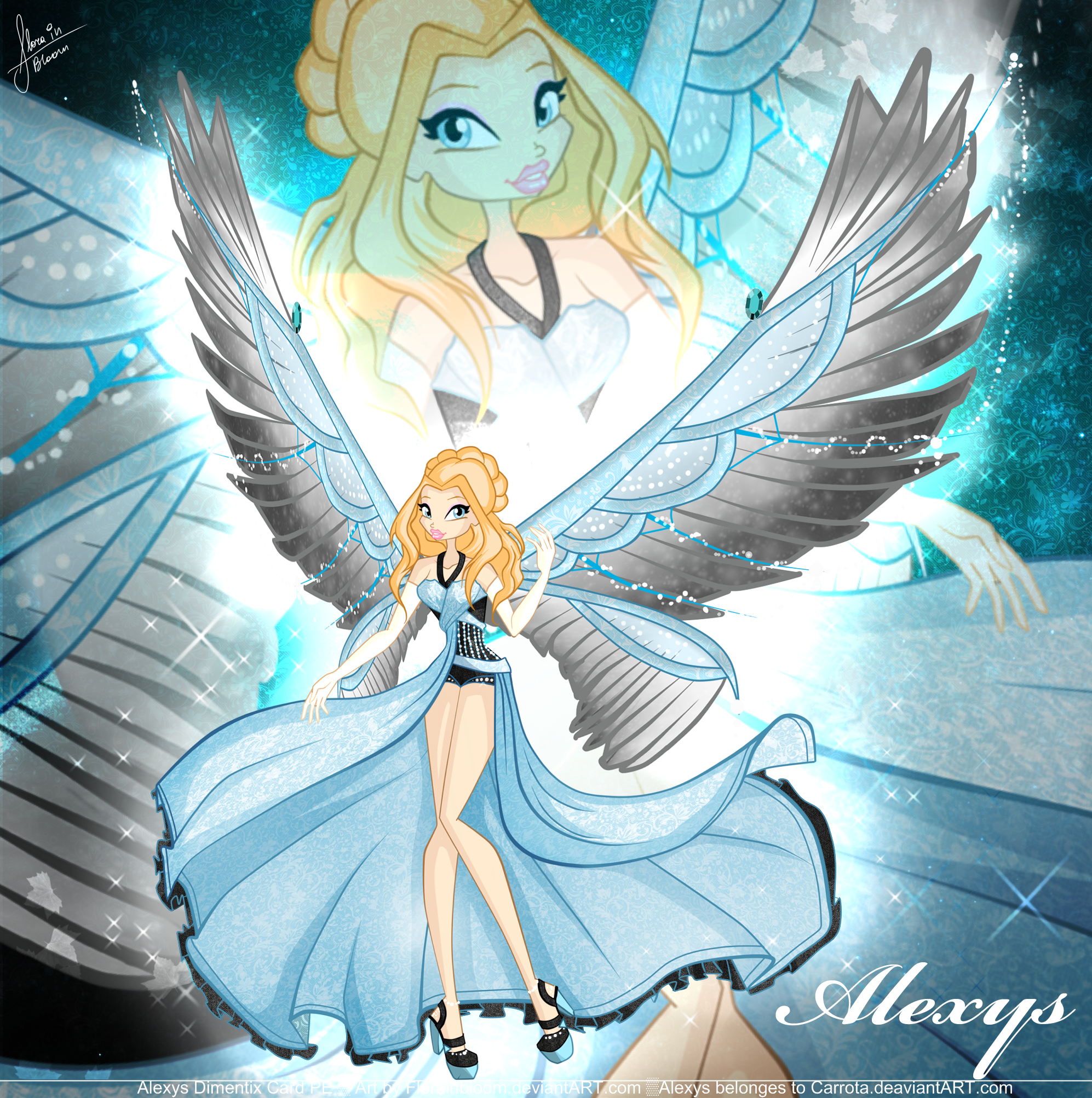 Alexys Dimentix Card by florainbloom.deviantart.com