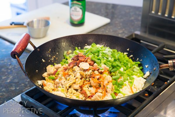 Paleo cauliflower fried rice recipe cauliflower fried rice how to make cauliflower fried rice paleo grainfree healthy ccuart Image collections