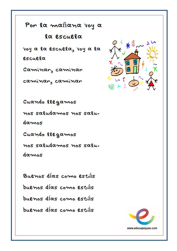 Canciones infantiles canciones ni os canciones de los for Cancion en el jardin