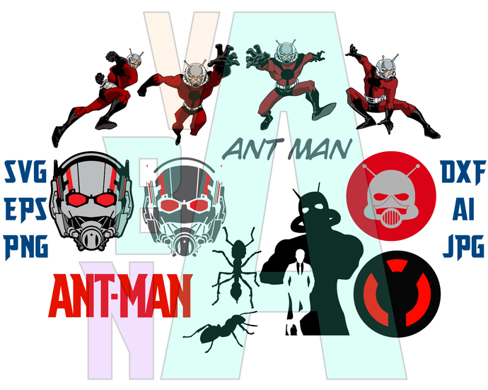 Ant Man The Wasp Svg Antman Logo Antman Helmet Mask Shirt Marvel Superhero Ant Man Party Svg Png Dxf Eps File Si Ant Man Silhouette Studio Designer Edition Svg