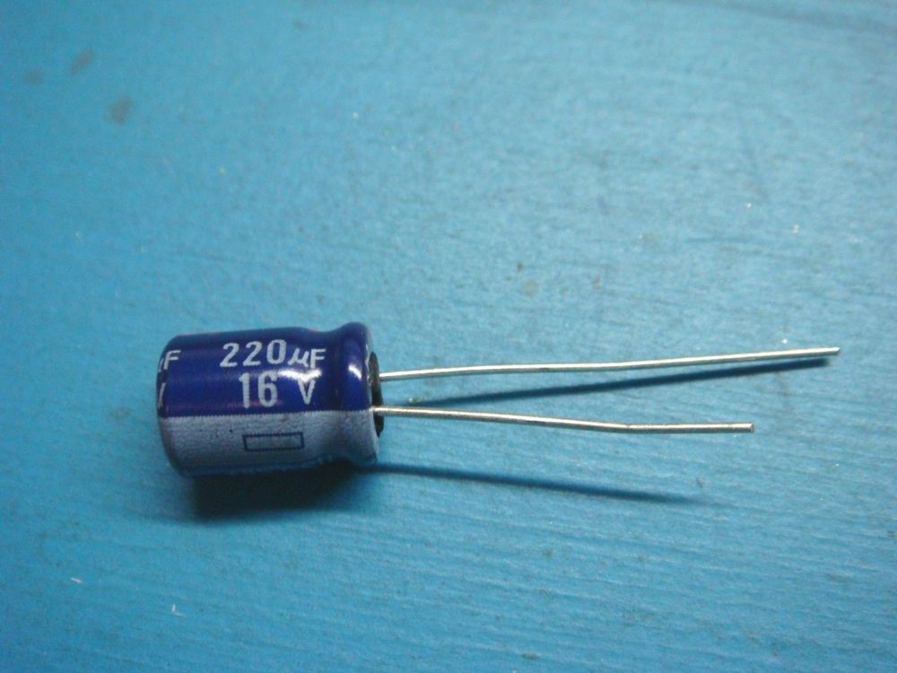25 Panasonic Ece A1cu221 220uf 16v 20 Radial Aluminum Electrolytic Capacitor Panasonic Electronics Components Diy Tech Electrolytic Capacitor
