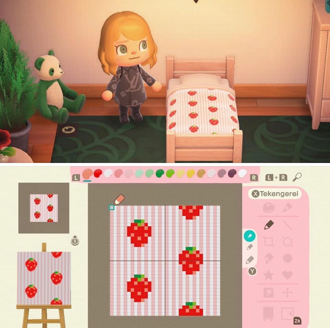 127 Likes 3 Comments Animal Crossing New Horizon Animalcrossingoutfits On Instagram Cute Straw Animal Crossing Animal Crossing Game New Animal Crossing